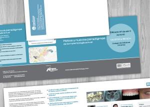 Diseño gráfico de folletos curso davó