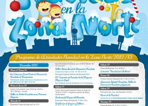 Diseño Gráfico campaña navidad en la zona norte alicante 2012